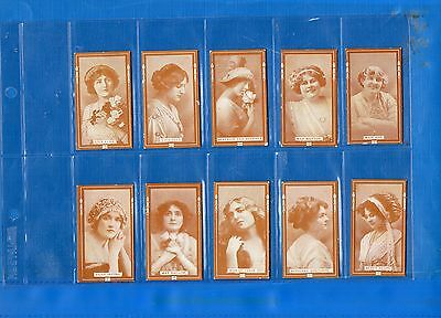 *ACTRESSES*Full Set of 30-+Sleeves-B.A.T.-VG