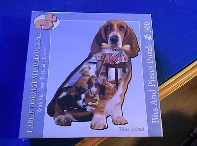 NEW - Bits and Pieces - 300 Large Format Shaped Jigsaw - DOGGY TREAT CAPERS