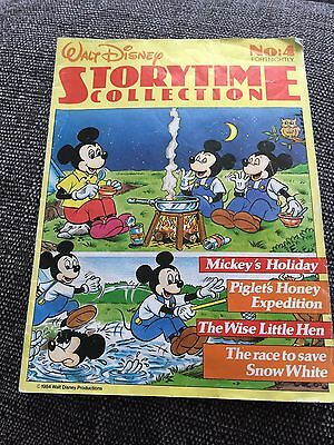 Walt Disney Storytime Collection No 4 1984 Mickey Mouse Winnie The Pooh Comic