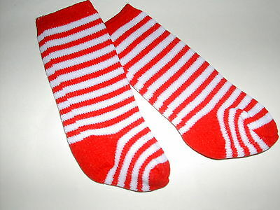 Red Striped American Fashion  Doll Clothes Socks for 18 inch Girl Doll