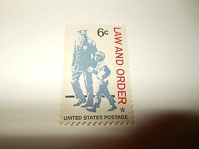 1968 USA LAW AND ORDER 6c stamp unused mint
