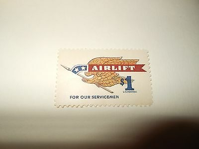 1968 USA airlift for our serviceman $1 stamp unused mint