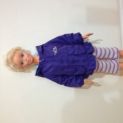 My Size Barbie Two-Piece Purple Outfit