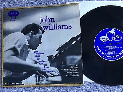 "JOHN WILLIAMS s/t 1955 ORIGINAL 10"" LP ~ EmArcy RECORDS~ MG 26047 TRIO SESSIONS"