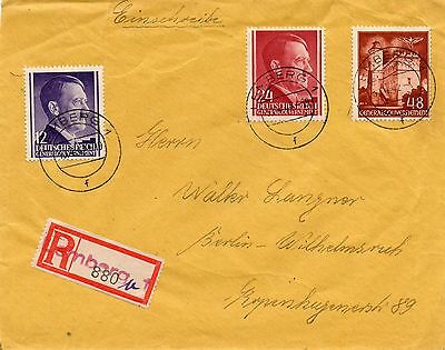 Generalgouvernement, R-Brief, Lemberg - Berlin, 1942 !!