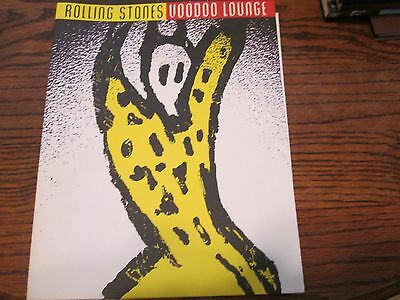 Rare Rolling Stones Voodoo Lounge Music Press Kit And Photo Mick Jagger