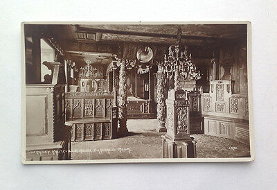 Old Postcard Victor Hugo's House D'Hauteville House Guernsey Real Photograph