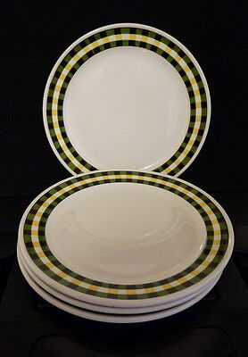 Villeroy And Boch ''glasgow'' 4, 7.1/2'' Plates.plus 2 Free Jugs