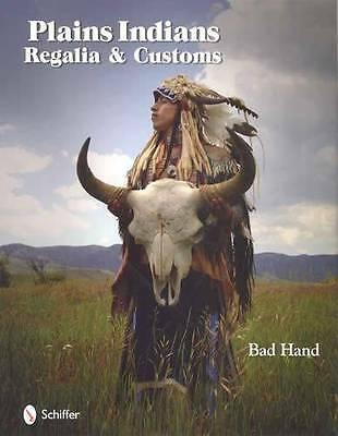 Plains Indians Culture Regalia Native American Ref Book