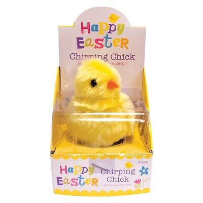 Chirping Easter Chick Childrens Gift Hold In Palm Of Hand To Work Sensors 26041