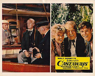 In search of the Castaways ('62) Orig UK 10x8 Lobby Card (#10) Hayley Mills