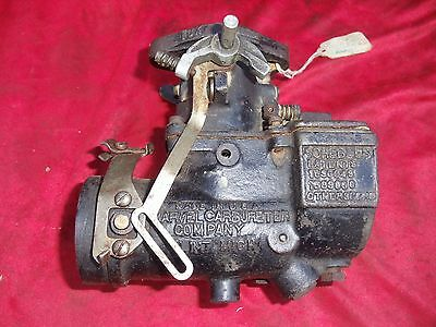 Marvel Schebler Carburetor Buick Nash Hudson Graham Paige Indian Harley Ford