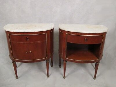 Pair of French Louis XVI style side tables - 11597