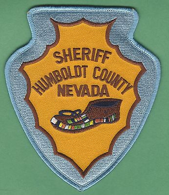Humboldt County Sheriff Nevada Police Patch
