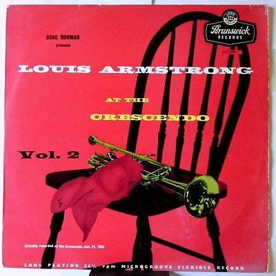 At The Crescendo Vol. 2 (UK 1955)  by Louis Armstrong