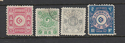 Four very old Korean issues