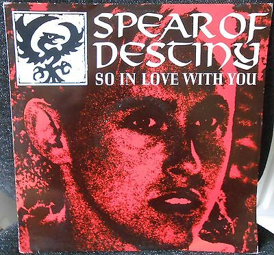 "Spear Of Destiny - So In Love With You 12"" Vinyl"