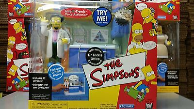 The Simpsons Dr. Nick's Office Playset UNOPENED IN BOX (Playmates)