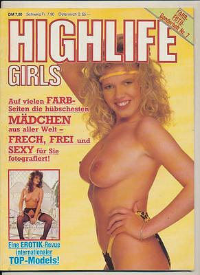 Marina Larsen-Tracy Neve-Highlife Girls-Farb-Foto-Sonderband Nr.7-1988 Rar!!