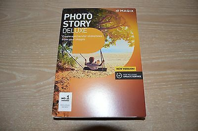 Magix Photo Story Deluxe 2017 software NEW