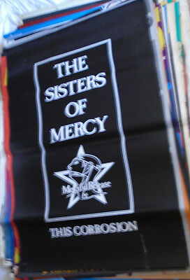 The Sisters Of Mercy 1987 Huge British Subway Promo Poster This Corrosion