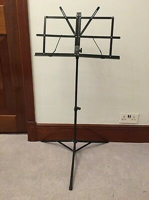 Music Stand Portable And Adjustable