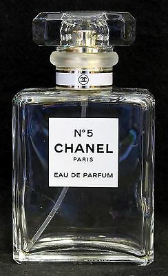 Chanel No.5 Empty 35ml Perfume Bottle and Box - VGC
