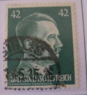 Germany Third Reich 1944 Hitler Used