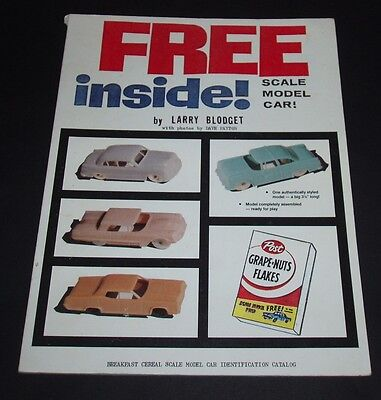 1989 BOOK about Post Cereal Box F&F Ford cereal premium cars