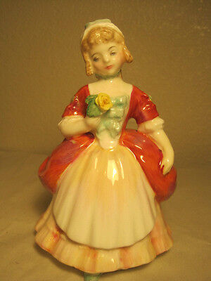"""Lovely Royal Doulton Figurine, """"valerie""""   Hn2107, By Peggy Davies"""