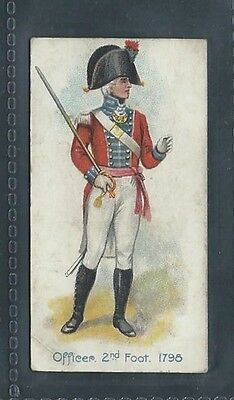 Players Old England's Defenders No 30 Officer 2Nd Foot 1795