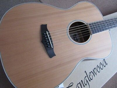 Bargain, Superb,easy Playing,acoustic Guitar & Tuner,natural Wood Rrp About £286