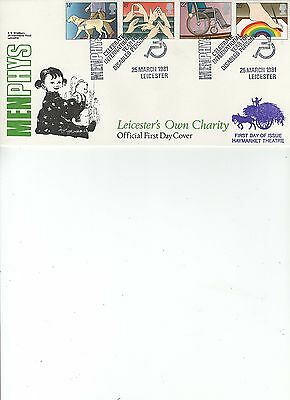 1981  Disabled - Menphys - Leicester - Bradbury Official Cover Lfdc 8