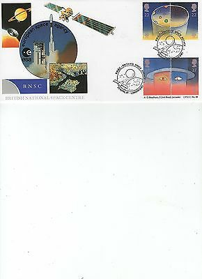1991  Space - Bnsc Britain's Space Agency - Bradbury Official Cover Lfdc 96