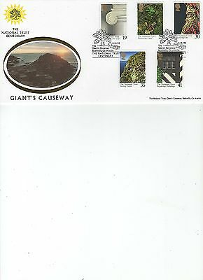 1995  NATIONAL TRUST - GIANT'S CAUSWAY - BENHAM OFFICIAL MBA 32e