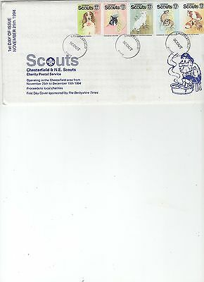 1994  CHRISTMAS - CHESTERFIELD SCOUTS - 1st DAY of ISSUE