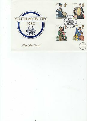 1982  Youth - Girl Guides Association - Cotswold Official Cover
