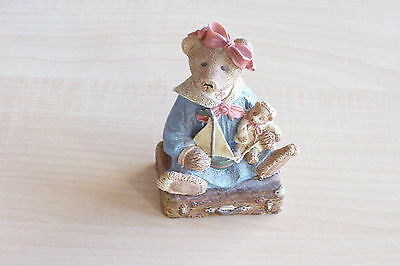 "Boyds Bears & Friends ""a Journey Begins With A Single Step"" Figurine, Ed #5575"