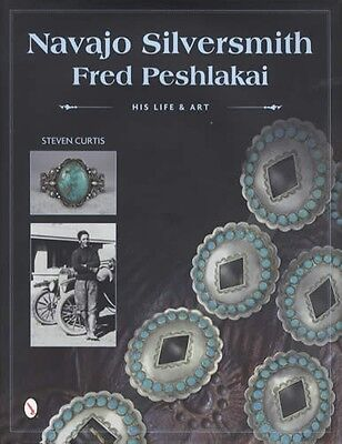Navajo Silversmith Fred Peshlakai Life & Art Southwest Native Amer Jewelry Refer
