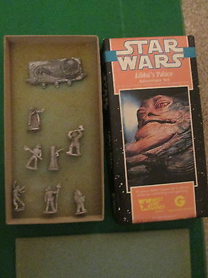 Jabba's Palace - 40310 - 28Mm Star Wars Box Set - West End Games - Complete