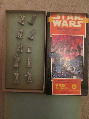 Mos Eisley Cantina - 40309 - 28Mm Star Wars Box Set - West End Games - Complete