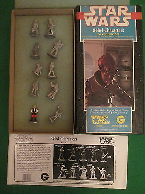 Rebel Characters - 40308 - 28Mm Star Wars Box Set - West End Games - Complete
