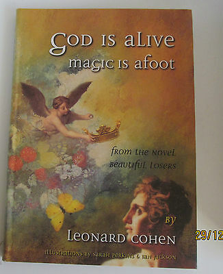 Leonard Cohen God is Alive Magic is Afoot Poetry Texts & Poetry Anthologies