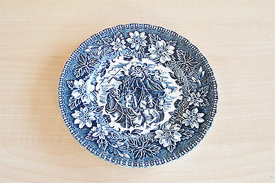 "Royal Tudor Ware ~ Coaching Taverns 1828 Staffordshire England 6 1/8"" Side Plate"