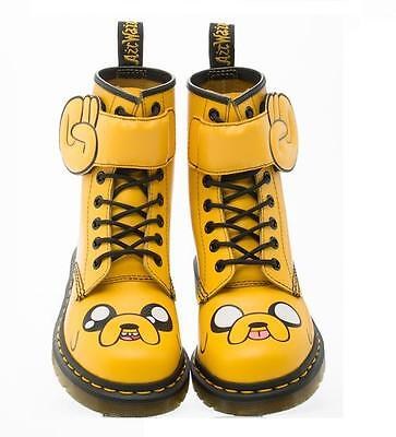 DR MARTENS ADVENTURE TIME JAKE The DOG BOOTS SHOES MENS / JUNIOR YOUTH 4 WOMEN 5