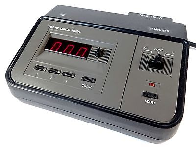PHILIPS PDC 112/02 Digital Enlarger Timer - Clean and Tested