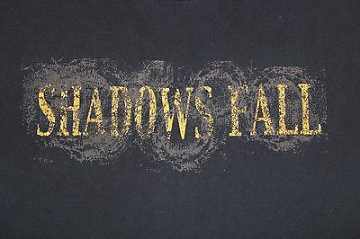 Original 2003~SHADOWS FALL~Shirt with tour Dates killswitch engage-stone sour