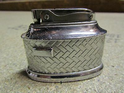 1950s MTC Japanese Chrome Plate Table Lighter