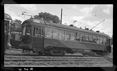 TROLLEY NEGATIVE-[Neg. A494]-1930s CNR Canadian National Electric Railway #325