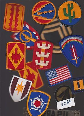Lot Of 15  Military Army (Ww2?) Patches (S266)